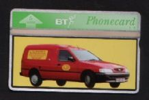 Phonecards BT Telephone card  KJB Builders van #067